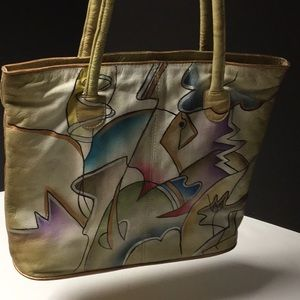 unknown Bags - Leather bag from India in good condition
